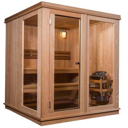 Complete Interior Traditional Sauna