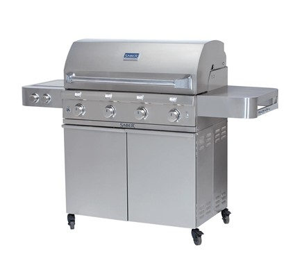 SS 670 Free standing grill