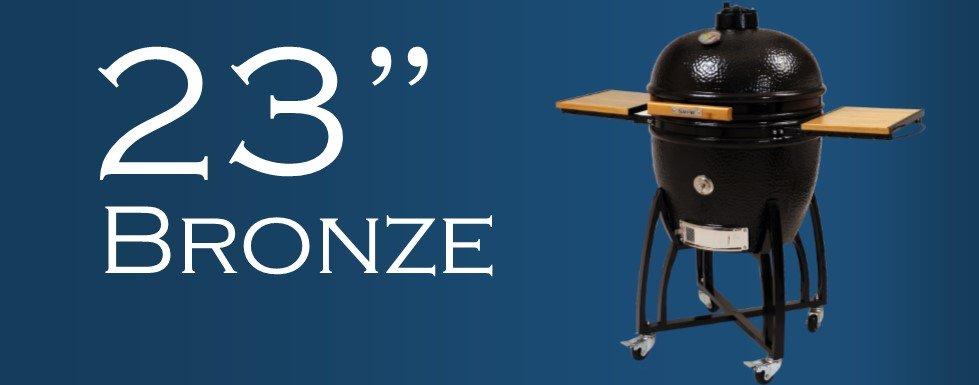 23 inch bronze saffire grill