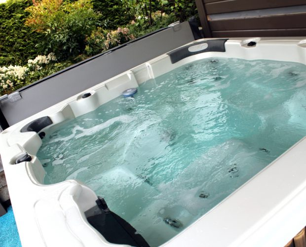 Image of hot tub water