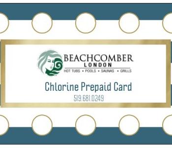 chlorine card